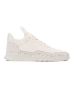 Filling Pieces | Ghost Perforated Sneakers 40 Rubber/Leather/Suede