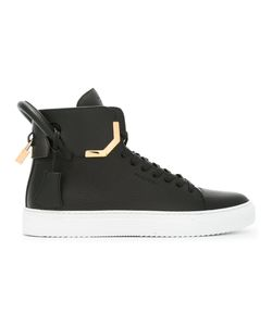 Buscemi | 125 Mm Hi Tops 44 Calf Leather/Rubber/Leather