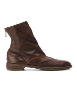 GUIDI | Ботинки На Молнии С Эффектом Потертости
