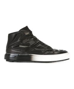 Alejandro Ingelmo | Panelled Hi-Tops 45 Calf Leather/Leather/Rubber