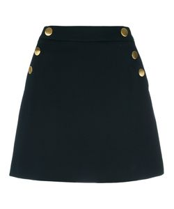 Michael Michael Kors | Button Up Skirt 4 Cotton/Viscose/Spandex/Elastane