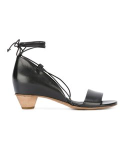 Roberto Del Carlo | Lace-Up Sandals 39 Calf Leather/Leather