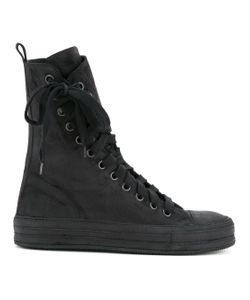 Ann Demeulemeester | Off-Centre Lace-Up Boots
