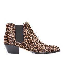 Alexa Wagner | Leopard Print Boots