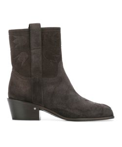 Laurence Dacade | Anthacite Boots Womens Size 37 Suede/Leather