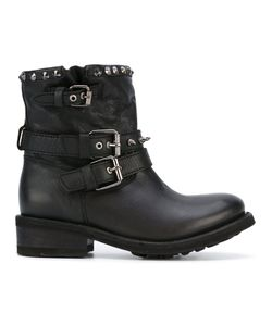 Ash | Studded Buckle Boots Size 41