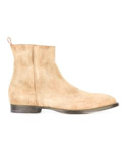 Buttero | Soft Ankle Boots 40 Leather/Calf Suede/Rubber