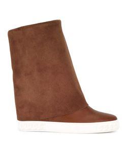 Casadei | Slip-On Flat Boots