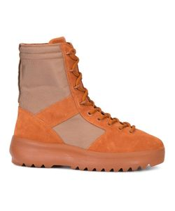 YEEZY | Lace-Up Boots 41 Cotton/Rubber/Suede/Polyester