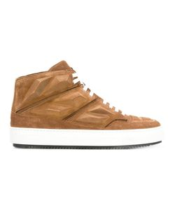 Alejandro Ingelmo | Panelled Hi-Tops 39 Calf Suede/Leather/Rubber