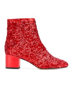 Marc Ellis | Sequinned Ankle Boots Size 39