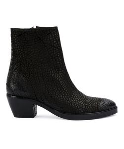 THE LAST CONSPIRACY | Textured Ankle Boots Women Horse