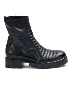 OXS RUBBER SOUL | Ribbed Panel Boots Men Calf