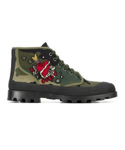 Valentino   Ботинки С Вышивкой Garavani