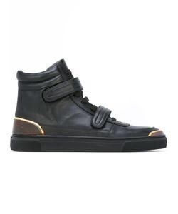 Louis Leeman | Hook Loop Strap Hi-Top Sneakers 41.5