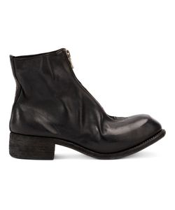 GUIDI | Front Zip Ankle Boots 41 Horse Leather/Leather