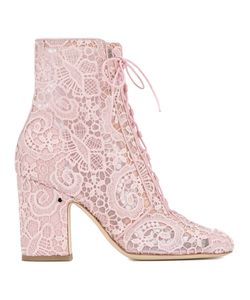 Laurence Dacade | Milly Lace Boots 39.5 Cotton/Leather