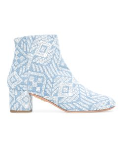 Aquazzura | Patterned Ankle Boots
