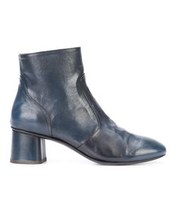 Silvano Sassetti | Almond Toe Ankle Boots