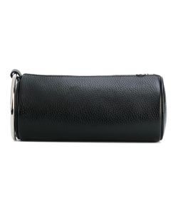 KARA | Handle Applique Clutch Bag