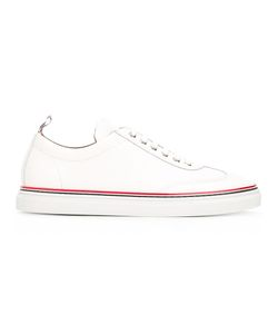 Thom Browne | Classic Lace-Up Sneakers 6 Leather/Rubber
