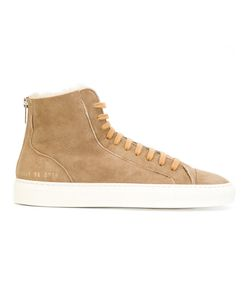 Common Projects | Tournament High Shearling Sneakers Women Sheep