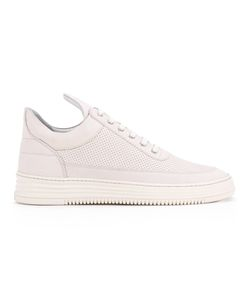 Filling Pieces | Tone Perforated Low Top Sneakers