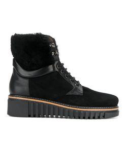Loriblu | Fur Wedge Boots Women