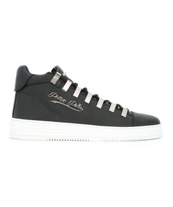 Philipp Plein | Contrast Sole Sneakers 40 Leather/Rubber/Metal