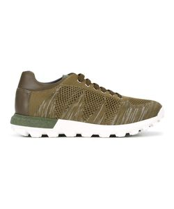 Pollini | Lace-Up Knit Trainers Size 40