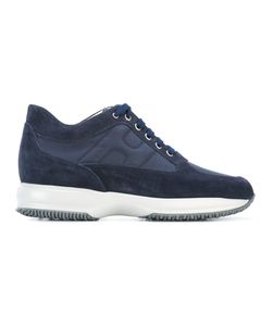 Hogan | Lace Up Trainers 10 Suede/Leather/Polyamide/Rubber