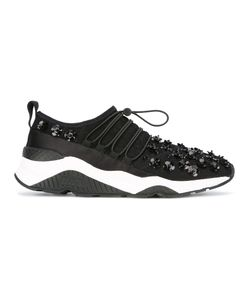 Ash | Miss Lace Sneakers Womens Size 37 Satin/Polyamide/Pvc/Rubber