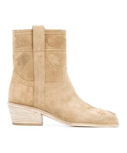 Laurence Dacade | Ankle Length Boots 40 Suede/Leather