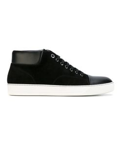 Lanvin | Panel Lace-Up Sneakers