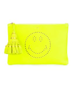 Anya Hindmarch | Smiley Clutch Calf Leather