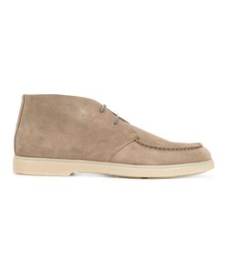 Santoni | Moccasin Look Desert Boots Men