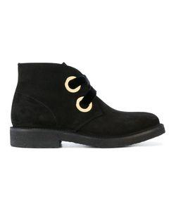 Rupert Sanderson | Oversized Eyelets Ankle Boots