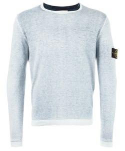Stone Island | Arm Patch Jumper Medium Cotton