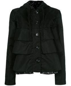 Emporio Armani | Ruffled Hooded Jacket 44 Polyamide/Polyester