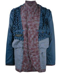 Comme Des Garcons | Comme Des Garçons Vintage Inside Out Ruffled Blazer Large