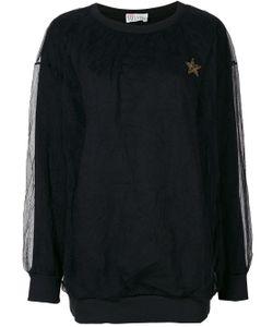 Red Valentino | Lace Layer Sweatshirt