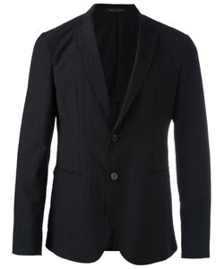 Emporio Armani | Button Up Blazer 52 Virgin Wool/Viscose/Cotton