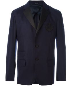 Alexander McQueen | Skull Crown Patch Blazer