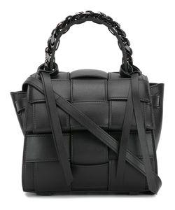 Elena Ghisellini | Woven Texture Satchel Bag