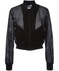 Love Moschino | Perforated Bomber Jacket 42
