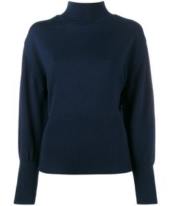 JACQUEMUS | Wool High Neck Knit With Open Back 34