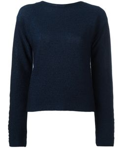 Mugler | Cropped Jumper 38 Cotton/Polyester/Viscose