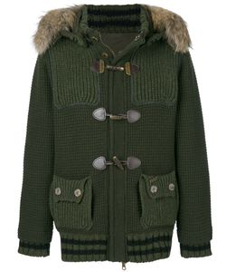 Bark | Knitted Duffle Jacket Men L