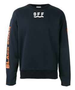 Moncler x Off-White   Logo Print Sweatshirt Size Small