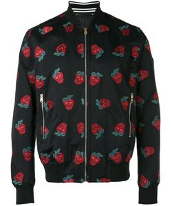 Paul Smith | Embroidered Strawberries Bomber Jacket Size Large